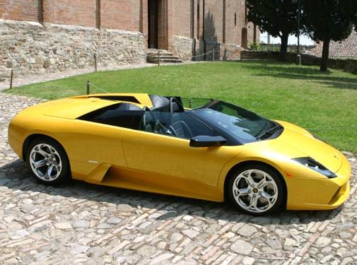 Highest Horsepower Convertibles of 2006 - 2006 Lamborghini Murcielago