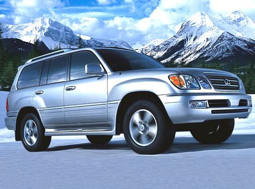 Top Consumer Rated Luxury Vehicles of 2006 - 2006 Lexus LX