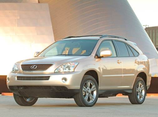 Most Fuel Efficient Crossovers of 2006 - 2006 Lexus RX