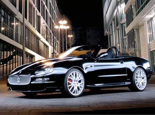 Highest Horsepower Convertibles of 2006 - 2006 Maserati GranSport