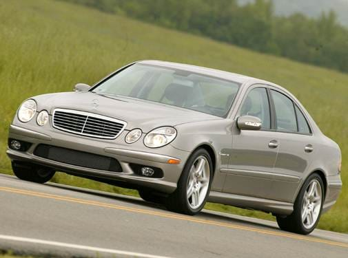 Highest Horsepower Sedans of 2006 - 2006 Mercedes-Benz E-Class