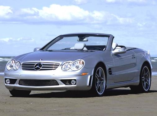 Highest Horsepower Convertibles of 2006 - 2006 Mercedes-Benz SL-Class