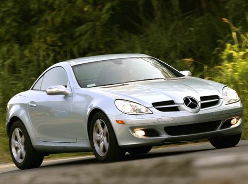 Most Fuel Efficient Convertibles of 2006 - 2006 Mercedes-Benz SLK-Class