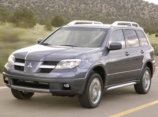 Most Fuel Efficient SUVS of 2006 - 2006 Mitsubishi Outlander
