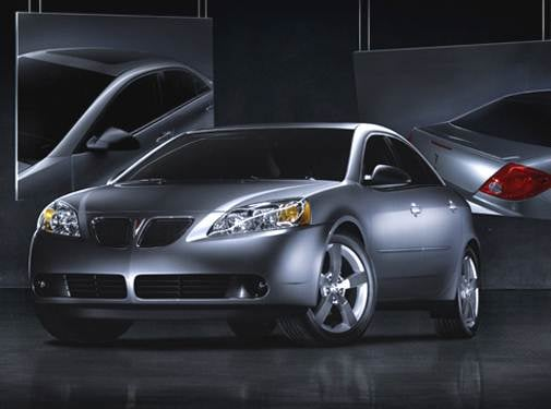 Most Popular Sedans of 2006 - 2006 Pontiac G6