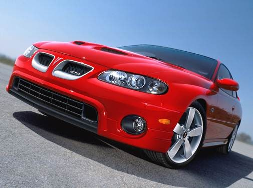 Top Consumer Rated Coupes of 2006 - 2006 Pontiac GTO
