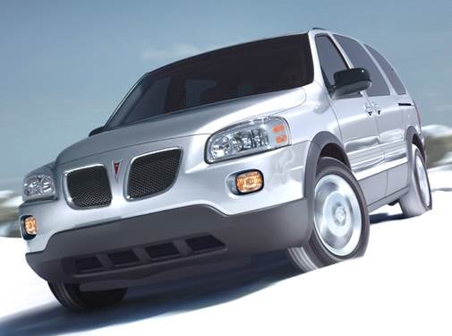 Most Popular Van/Minivans of 2006 - 2006 Pontiac Montana SV6