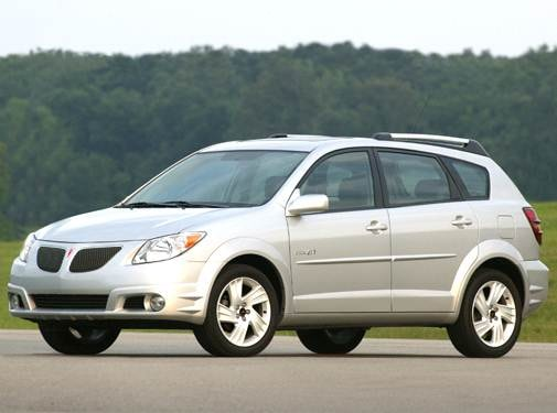 Top Consumer Rated Hatchbacks of 2006 - 2006 Pontiac Vibe