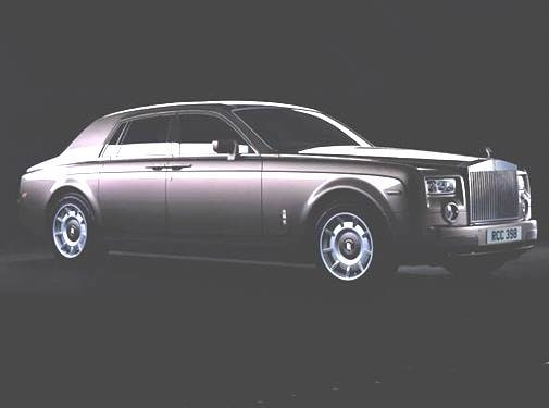 Highest Horsepower Sedans of 2006 - 2006 Rolls-Royce Phantom