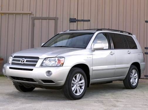 Most Fuel Efficient Crossovers of 2006 - 2006 Toyota Highlander