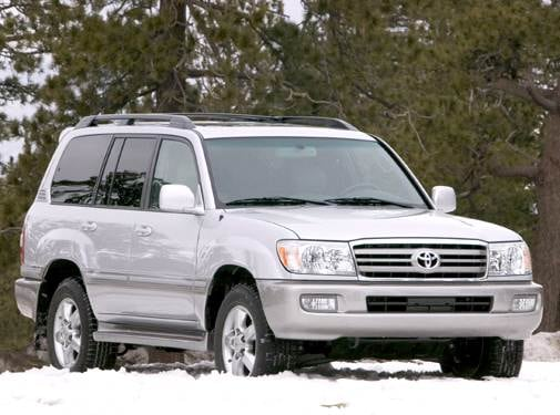 Top Consumer Rated Luxury Vehicles of 2006 - 2006 Toyota Land Cruiser