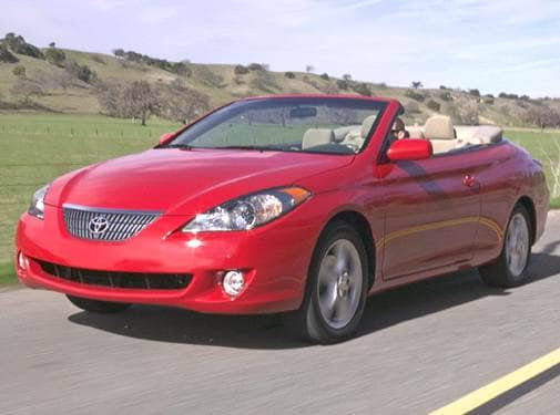 Most Fuel Efficient Convertibles of 2006 - 2006 Toyota Solara