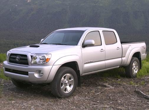 Most Fuel Efficient Trucks of 2006 - 2006 Toyota Tacoma Double Cab