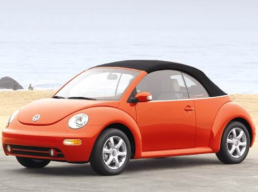 Most Fuel Efficient Convertibles of 2006 - 2006 Volkswagen New Beetle
