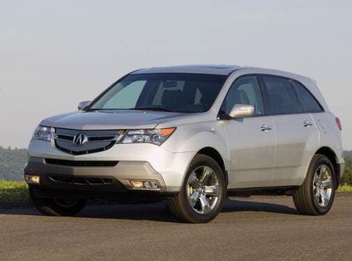 Top Consumer Rated Crossovers of 2007 - 2007 Acura MDX