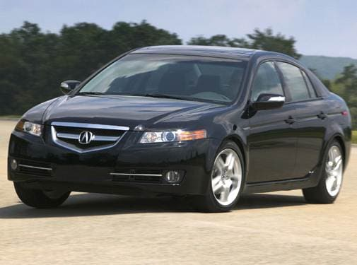 Most Popular Luxury Vehicles of 2007 - 2007 Acura TL