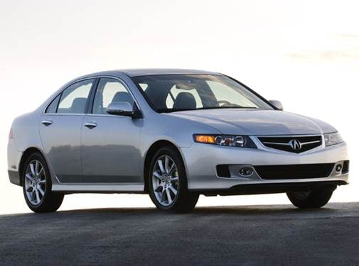 Top Consumer Rated Sedans of 2007 - 2007 Acura TSX