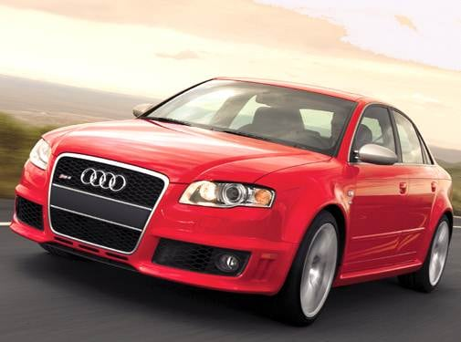 Top Consumer Rated Sedans of 2007 - 2007 Audi RS 4