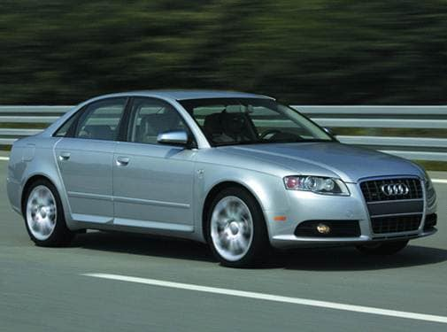 Top Consumer Rated Sedans of 2007 - 2007 Audi S4