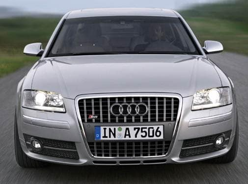 Highest Horsepower Sedans of 2007 - 2007 Audi S8