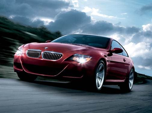 Highest Horsepower Coupes of 2007 - 2007 BMW M6
