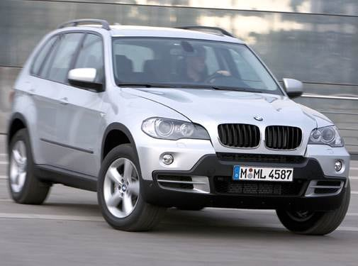 Highest Horsepower Crossovers of 2007 - 2007 BMW X5