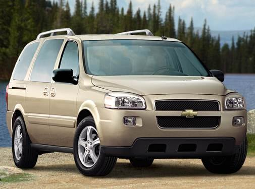 Most Popular Van/Minivans of 2007 - 2007 Chevrolet Uplander Passenger