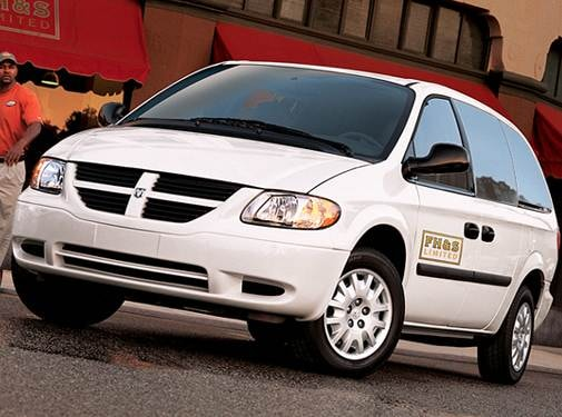 Most Popular Van/Minivans of 2007 - 2007 Dodge Caravan Cargo