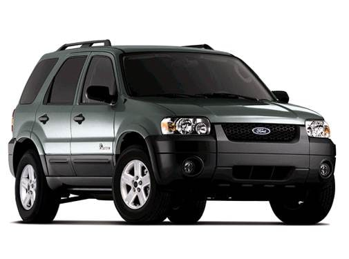 Most Popular SUVS of 2007 - 2007 Ford Escape