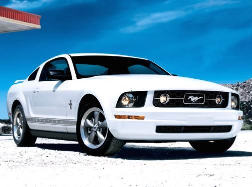 Top Consumer Rated Coupes of 2007 - 2007 Ford Mustang