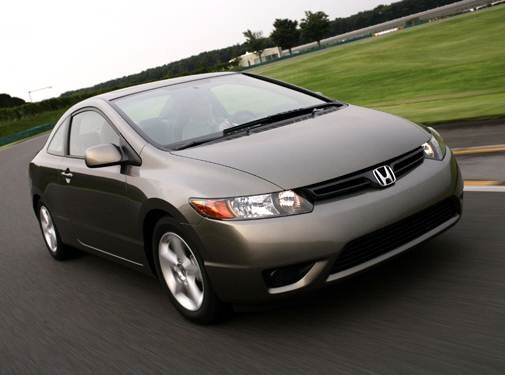 Most Fuel Efficient Coupes of 2007 - 2007 Honda Civic