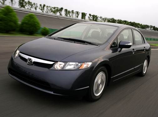 Most Fuel Efficient Hybrids of 2007 - 2007 Honda Civic