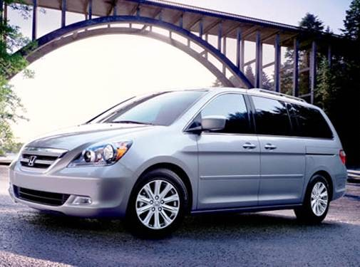 Most Popular Van/Minivans of 2007 - 2007 Honda Odyssey