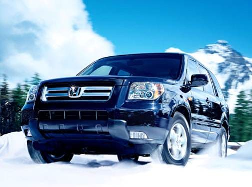 Most Popular SUVS of 2007 - 2007 Honda Pilot