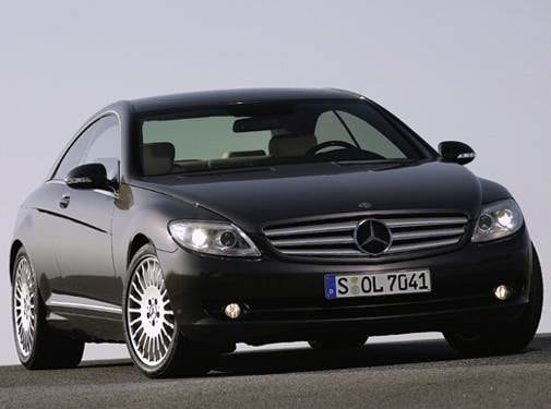 Top Consumer Rated Coupes of 2007 - 2007 Mercedes-Benz CL-Class