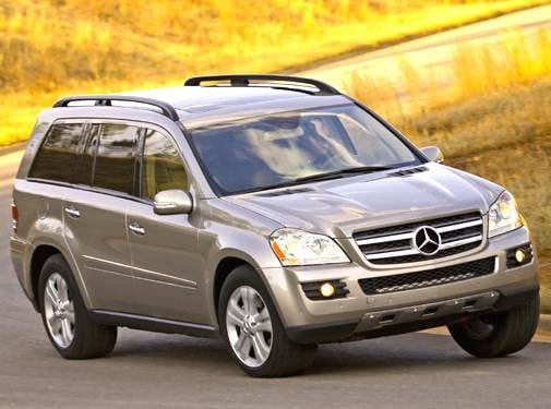 Highest Horsepower Crossovers of 2007 - 2007 Mercedes-Benz GL-Class