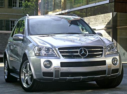 Highest Horsepower Crossovers of 2007 - 2007 Mercedes-Benz M-Class