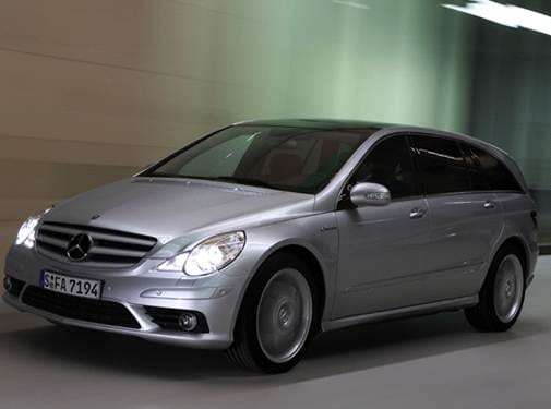 Highest Horsepower Crossovers of 2007 - 2007 Mercedes-Benz R-Class