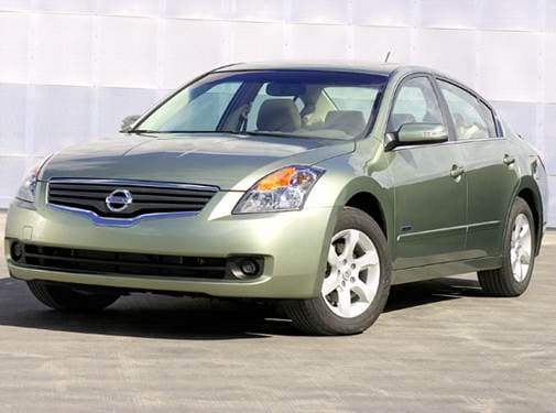 Most Popular Hybrids of 2007 - 2007 Nissan Altima