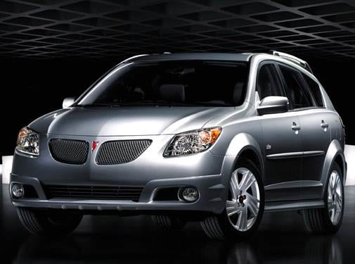 Most Fuel Efficient Wagons of 2007 - 2007 Pontiac Vibe