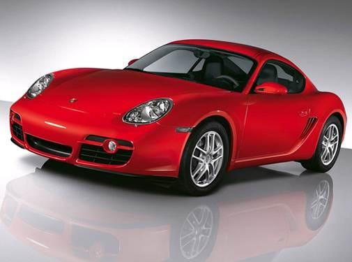 Top Consumer Rated Coupes of 2007 - 2007 Porsche Cayman