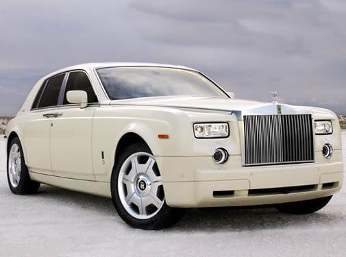 Highest Horsepower Sedans of 2007 - 2007 Rolls-Royce Phantom