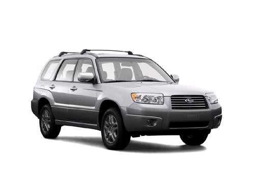 Most Fuel Efficient SUVS of 2007 - 2007 Subaru Forester