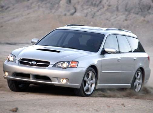 Most Fuel Efficient Wagons of 2007 - 2007 Subaru Legacy