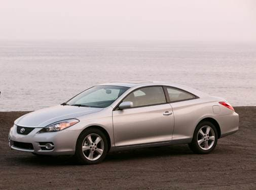 Most Fuel Efficient Coupes of 2007 - 2007 Toyota Solara