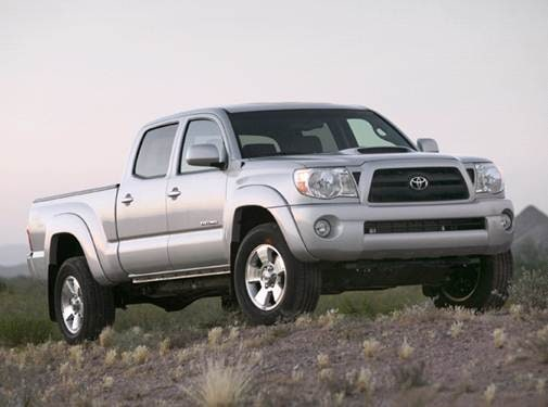 Top Consumer Rated Trucks of 2007 - 2007 Toyota Tacoma Double Cab