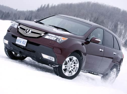 Highest Horsepower Crossovers of 2008 - 2008 Acura MDX
