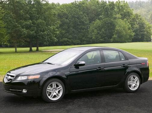 Top Consumer Rated Sedans of 2008 - 2008 Acura TL