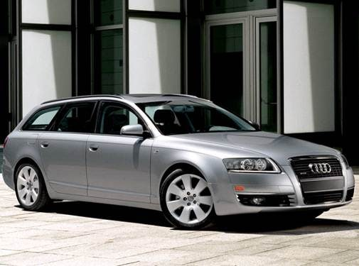 Highest Horsepower Wagons of 2008 - 2008 Audi A6