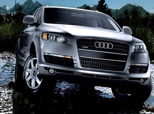 Highest Horsepower Crossovers of 2008 - 2008 Audi Q7